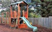 Childrens jogar solo — Foto Stock