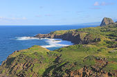 Coast of Maui with Kahakuloa Head — Stock Photo