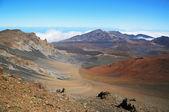 Colorful slope of Haleakala Crater — Stock Photo