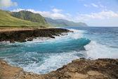 Kaena Point State Park - Oahu, Hawaii — Stock Photo