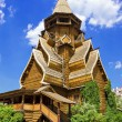 Wooden church in the Izmailovo Kremlin, Moscow, Russia — Stock Photo #61760473