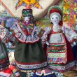 Linen doll in Russian national dress — Stock Photo #61762013
