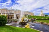 彼得夏宫,俄罗斯 (教科文组织世界遗产) — 图库照片