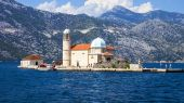 Island Mother of God on the Rocks, Montenegro — Stock Photo