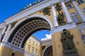 Triumphal Arch of the General Staff, Saint-Petersburg, Russia — Stock Photo