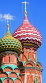 Basilius Kathedrale auf dem Roten Platz in Moskau, Russland. — Stockfoto