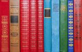 Background bindings books — Stock Photo