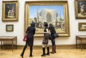 Moscou, Russie-1er mars : La Galerie nationale Tretiakov Art à Mosco — Photo