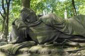 Necropoli di Alexander Nevsky Lavra. Sotto l'autorità della — Foto Stock
