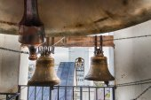 Bells on belltower. — Stock Photo