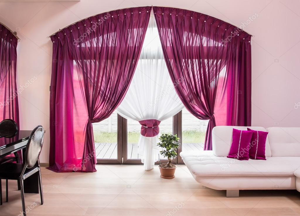 Designer drapes curtains