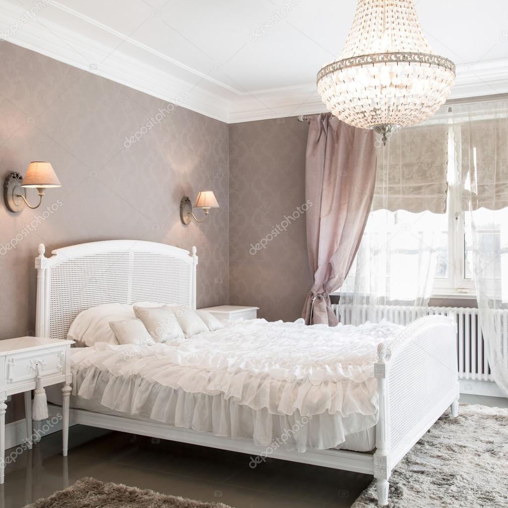 vinatge stil schlafzimmer für frauen — stockfoto #119219062, Deko ideen