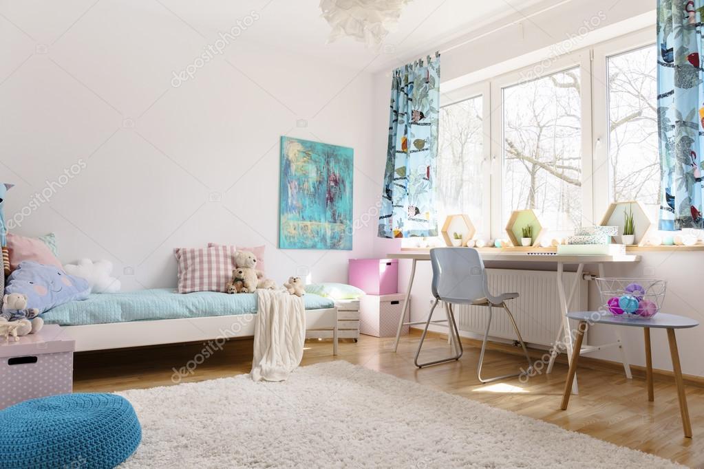 Rustgevende kracht van pastel kleuren stockfoto 122445768 - Kamer voor tieners ...