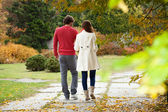 Married couple walking — Stock Photo