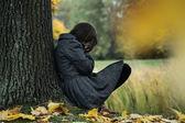 秋季抑郁症 — 图库照片