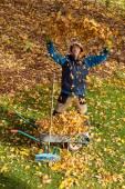 Autumn joy — Stock Photo