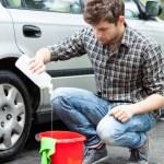 Car wash worker — Stock Photo #52200091