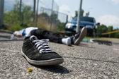 Deadly car crash — Stock Photo
