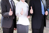 Corporation workers — Stock Photo