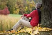 Man contemplating — Stock fotografie