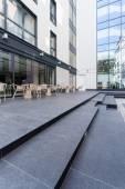 Restaurant on the terrace — Stock Photo