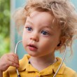 Child with a stethoscope — Stock Photo #56583961