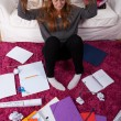 I don't want to study — Stock Photo #57553141