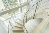Winding stairs in luxury apartment — Stock Photo