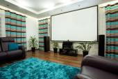 Cinema at home — Stock Photo