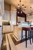 Cozinha em estilo barroco — Fotografia Stock