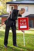 Selling the house — Stock Photo