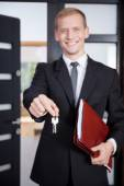 Key for buyer — Stock Photo