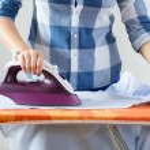 View of ironing woman — ストック写真 #62475481