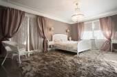 Romantic beauty bedroom — Stockfoto