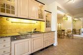 Comfy kitchen interior — Stock Photo