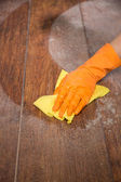 Washing the floor — Stock Photo