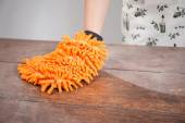 Feather duster — Stock Photo