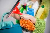 Cleaning tools — Stock Photo