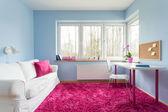 Pink soft carpet — Стоковое фото