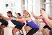 Strengthening bottom muscles — Stock Photo