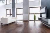 Exclusive living room interior — Stock Photo