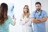 職場での医師 — ストック写真