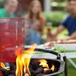 Prepare the grill — Stock Photo #70627377