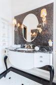 Fancy mirror — Stock Photo