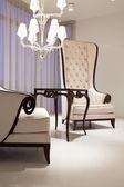 Elegant vardagsrum — Stockfoto