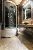Interior of luxury bathroom — Stock Photo