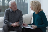Solving financial difficulties — Stock Photo