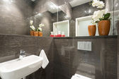 Lavatory in modern house — Stock Photo