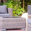 Modern garden furniture — Stock Photo #77324556