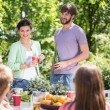 Garden party at summer time — Stockfoto #77602110